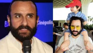 Saif Ali Khan reveals why he use to carry Taimur Ali Khan on his shoulders all the time