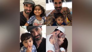 Sunny Leone gives special gift to husband Daniel Weber on Fathers Day; Check Out