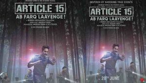 Ayushmann Khurrana's Article 15 new poster out