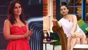 The Kapil Sharma Show: Kangana Ranaut praises Kareena Kapoor Khan; Here's Why
