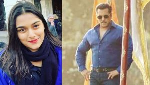 Salman Khan to romance Mahesh Manjrekar's daughter in Dabangg 3