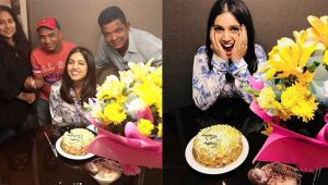 Bhumi Pednekar celebrates her birthday with family and friends; Check out