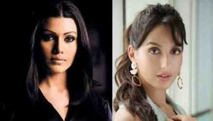 Nora Fatehi reacts on Koena Mitra's post on Saki Saki remake
