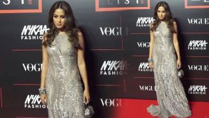 Mira Rajput looks glamours in grey gowns at Power List 2019