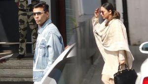 Gauri Khan & Karan Johar travels to Delhi for Ritu Nandan Last Rites; Watch Video