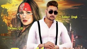 Fans raises question on Shehnaz's new song poster Gentleman with Robbey Singh