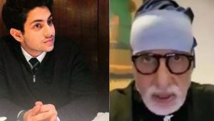 Amitabh Bachchan's grand son Agastya Nanda talks about his grand father health