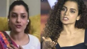 Sushant Singh Rajput's Ex girlfriend Ankita leaves interview in because of Kangana Ranaut