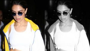 Deepika Padukone leaves Mumbai by private jet after drug chats !