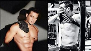 Salman khan turns his home into gym, video viral on social media