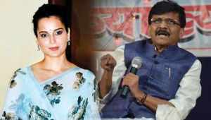 Kangana Ranaut demands Apology from Shiv Sena minister Sanjay Raut