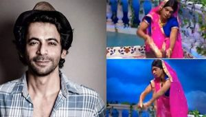 sunil Grover turns Topi bahu and recreates the iconic laptop washing scene