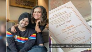 Neha Kakkar will be marrying singer Rohanpreet Singh on October 26