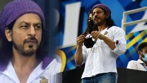 Shah Rukh Khan''s new hairstyle with long hair goes viral - Filmibeat