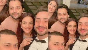 Bigg Boss 14 Finale;Jasmin Bhasin & Aly Goni's selfie with friends will win your heart