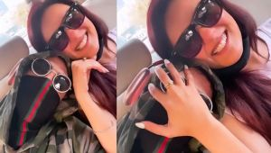 Jasmin Bhasin & Aly Goni enjoys drive at Chandigarh roads; Check Out
