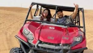 Jasmin Bhasin enjoys desert safari in Dubia with Aly Goni; Check out