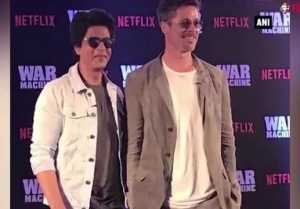 Brad Pitt and Shahrukh gets together in Mumbai