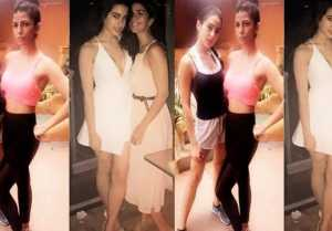 Sara Ali Khan FOUND Nimrat Kaur as a WORKOUT partner