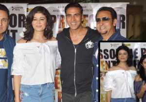 Akshay Kumar at Ex Girlfriend Pooja Batra's movie Mirror Game: Ab Khel Shuru Screening