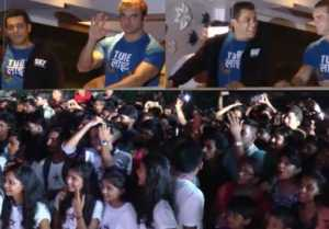 Salman Khan's Tubelight Trailer launch a Galaxy; Fans went crazy; Watch Video