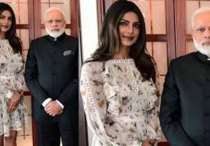Priyanka Chopra and Narendra Modi MET in Berlin, photo goes VIRAL