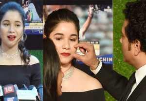 Sachin A Billion Dreams: Daughter Sara likes Sachin  Anjali Love Story in film; Watch Video
