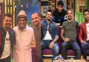 Kapil Sharma Show: Suresh Raina, Shikhar Dhawan and Hardik on the show