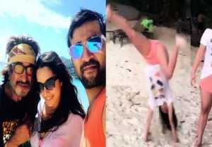 Shraddha Kapoor performs CARTWHEEL on a beach; Watch video