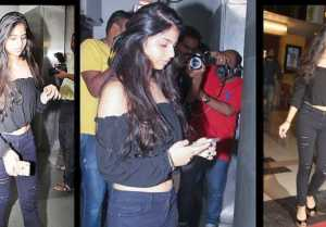 Suhana Khan SHINES again at Tubelight Screening; Watch video
