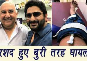 Arshad Warsi BADLY INJURED, Hospitalised