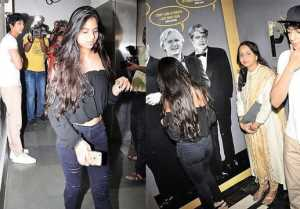 Suhana Khan , Ahaan Pandey SPOTTED TOGETHER at Tubelight screening