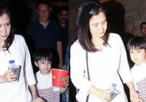 Tubelight kid Matin Rey Tangu watches movie with Mother; Watch video