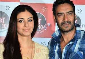 Tabu BLAMES Ajay Devgan for NOT getting MARRIED