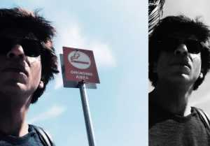 Shahrukh Khan QUITS Smoking, Shares PICTURE