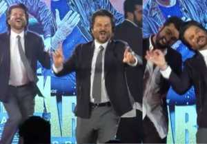 Anil Kapoor Dancing like no one is watching during Mubarakan promotion; Watch Video