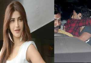 Shruti Haasan SPOTTED doing PDA with Boyfriend Michael Corsale
