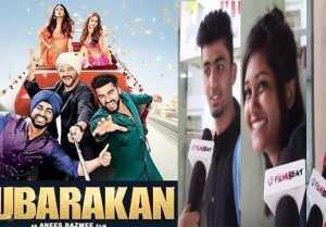 Mubarakan Public Review  Arjun Kapoor  Anil Kapoor  IIeana D'Cruz  Athiya Shetty