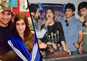 Sushant Singh Rajput THROWS SURPRISE Birthday Party for Kriti Sanon