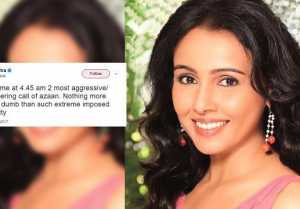 Suchitra Azaan Controversy : Singer TROLLED over Azaan TWEET
