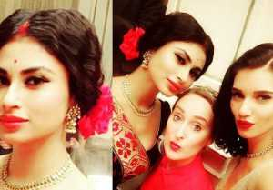 Mouni Roy RETRO look LEAKED from Akshay Kumar GOLD !  FilmiBeat