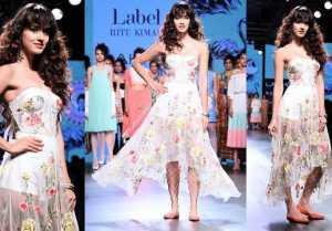 Disha Patani spreads Freshness at Lakme Fashion Week; Watch Video