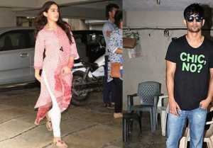 Sushant Singh Rajput SPOTTED with Sara Ali Khan at Abhishek Kapoor's Office for Kedarnath