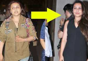 Rani Mukherjee Manish Malhotra Party में दिखीं नए अवतार में, मनाया Sridevi का B'Day
