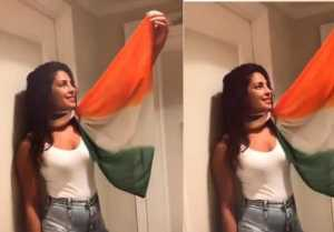 Priyanka Chopra trolled for her tricolour scarf, PM Modi does the  same
