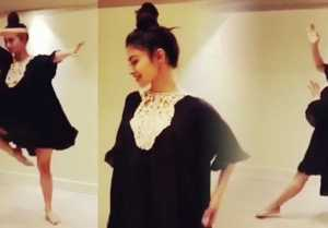 Mouni Roy DANCES on HIT song  Afreen Afreen ; Watch Video