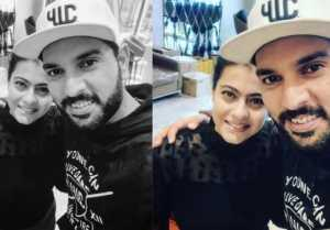 Yuvraj Singh and Kajol SELFIE goes Viral; Here's Why