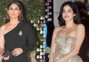 Kareena Kapoor Khan and Jhanvi Kapoor look STUNNING at Ambani Party; Watch