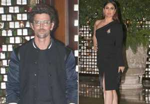 Kareena Kapoor Khan and Hrithik Roshan Ex lovers met at Ambani Party; Here's What Happened