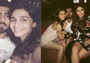 Alia Bhatt Spotted PARTYING with EX  BF Ali post Break up with Sidharth Malhotra; Watch